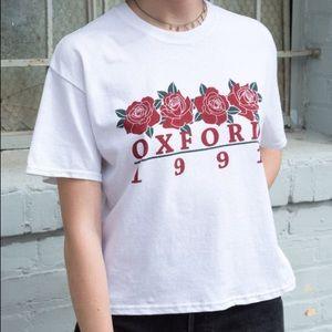 Brandy Melville Oxford 1991 Boxy T Shirt
